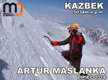 MAG-NET sponsorem wyprawy Artura Maślanki na KAZBEK
